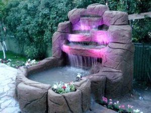 Mini Bahçe Şelalesi